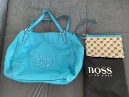 Hugo Boss Tasche - türkis/blau