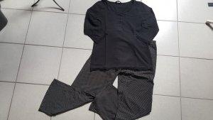 """Hunkemöller Pyjama-Set """" schwarz/ weiß """" Gr. M """" neuwertig !!!"""