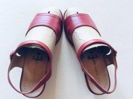 Hush Puppies Echtleder Kork Sandaletten Rot Size 5/38