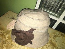 Diefenthal Chapeau en laine gris brun laine