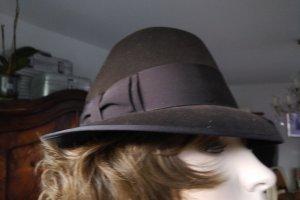 Resistol Kapelusz kowbojski ciemnobrązowy-brązowy Wełna