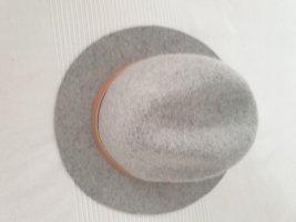 H&M Cappello in feltro grigio