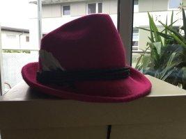 Folkloristische hoed magenta