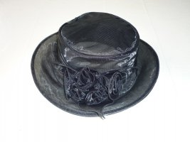 Seeberger Zonnehoed zwart Nylon