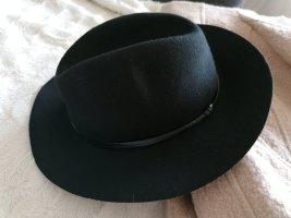 Massimo Dutti Felt Hat black