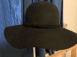 Hallhuber Cappello di lana nero