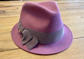 inverni Felt Hat multicolored angora wool