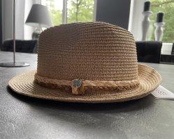 Esprit Sombrero de paja camel-beige