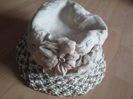 Sombrero de ala ancha multicolor Lino