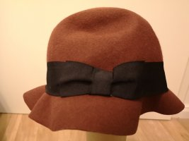 H&M Wollen hoed bruin Wol