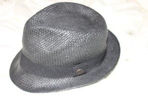 Menil Chapeau panama noir-gris anthracite