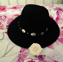 Primark Woolen Hat black wool