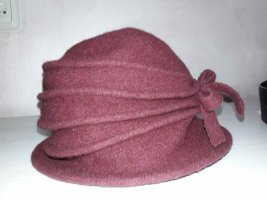 Mark Adam Bucket Hat red-bordeaux wool