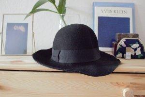 Strauss Innovation Cappello a falde larghe nero Lana