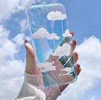 Carcasa para teléfono móvil azul claro