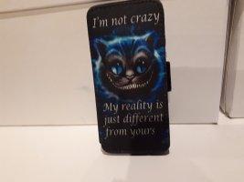 Disney Carcasa para teléfono móvil negro-azul neón
