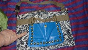 College Bag ocher-blue