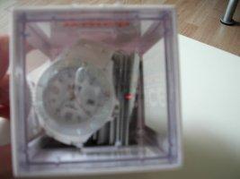 Swatch Zegarek automatyczny biały