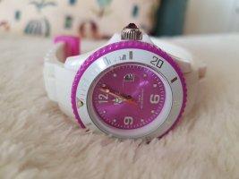 Ice watch Reloj analógico blanco-lila