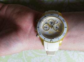 Ice watch Zegarek analogowy żółty