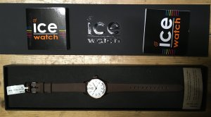 Ice watch Watch With Leather Strap multicolored leather