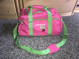 Icepeak Sports Bag pink-green