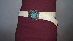 Vintage Cinturón de cadera multicolor