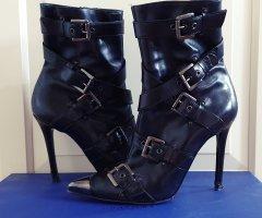 Icône Stiefelette Biker buckle boots