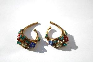 Idemaria Vintage Strass Ohrringe Ear Cuffs