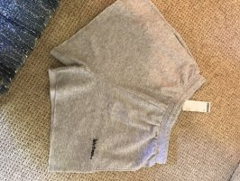 Urban Outfitters High-Waist-Shorts light grey