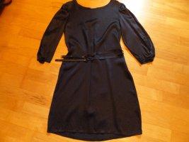 iheart Vestido ceñido de tubo azul oscuro Seda