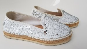 ILC Slippers white-silver-colored