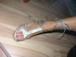 Impressionen Walk Away Riemchen Sandalen Higt Heels Leder Neu