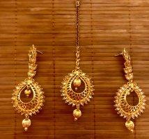 Bijoux pour la tête doré