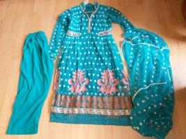 Ladies' Suit turquoise