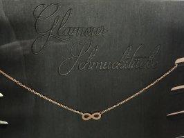 Infinity Halskette Kette Schmuck rosegold Unendlichkeitsschleife