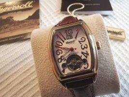 Ingersoll Carolina automatic watch in rose gold color