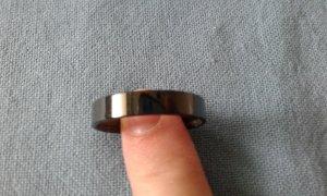 Innenring Bering schwarz glänzend Gr. 11 (68)
