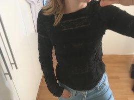 Insta H&M Shirt Spitze schwarz S 36 Bluse