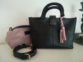 Inyati Handtasche mit herausnehmbarer Reißverschlusstasche und Schultergurt / Umhängetasche, midnight blue/dunkelblau
