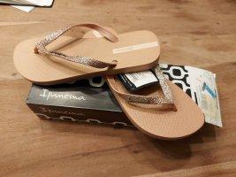 Ipanema Flip Flops rosegold - NEU und originalverpackt