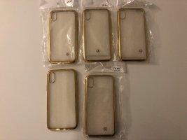 Hoesje voor mobiele telefoons goud