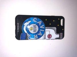 Iphoria Pokrowiec na telefon komórkowy czarny-niebieski