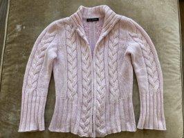 Iris von Arnim Cardigan all'uncinetto rosa pallido