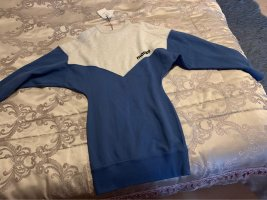Isabel Marant Étoile Maglione lungo grigio chiaro-blu acciaio Tessuto misto