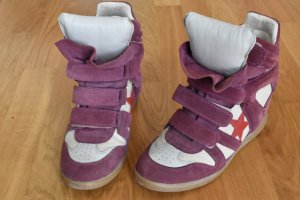 Isabel Marant Beckett High Top Sneakers 40/41
