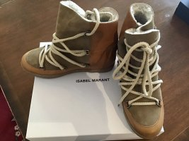 Isabel Marant Snow Boots light brown leather