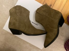 Isabel Marant Western Booties multicolored