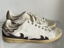 Isabel Marant Lace-Up Sneaker white