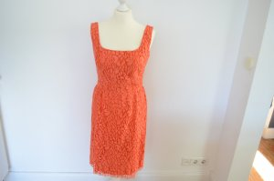 ISSA London Designer Kleid D 38 UK 12 Spitze orange NEU! UVP 545,00 €